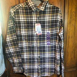 Wool rich men's shirt